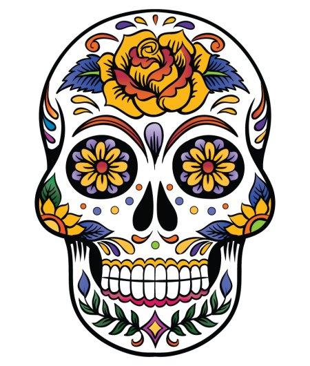 sugar-skull-rose