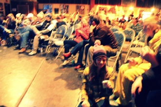 Stoked audience