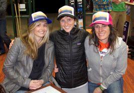 Danielle Watson, Krystal Collins, and Kim Kinney