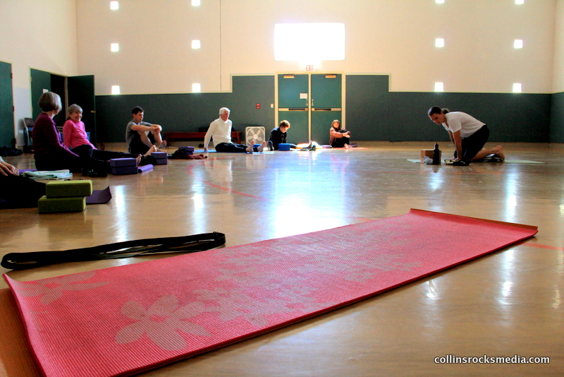 Donation yoga at First United Methodist Church downtown